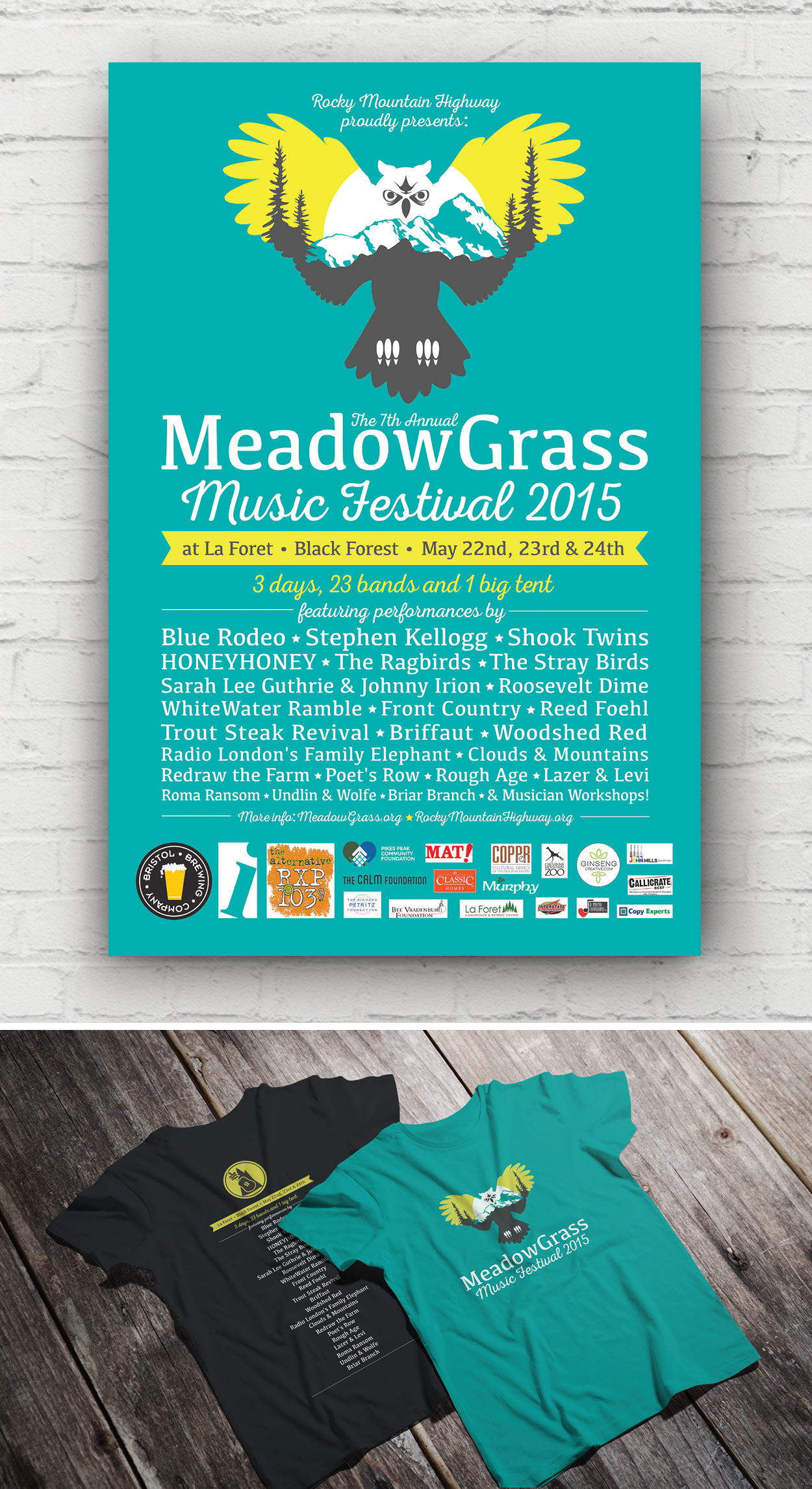 MEADOWGRASS MUSIC FESTIVAL 2015