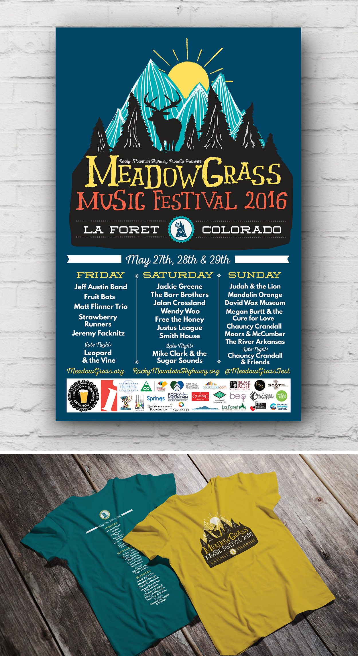 MEADOWGRASS MUSIC FESTIVAL 2016