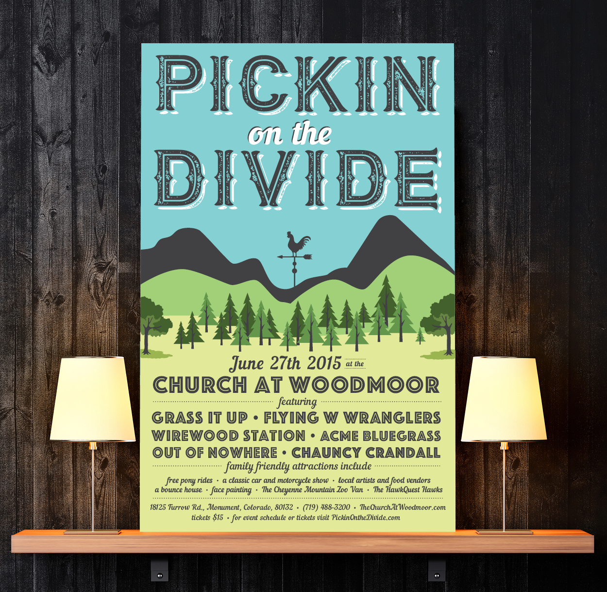 PICKIN' ON THE DIVIDE MUSIC FESTIVAL