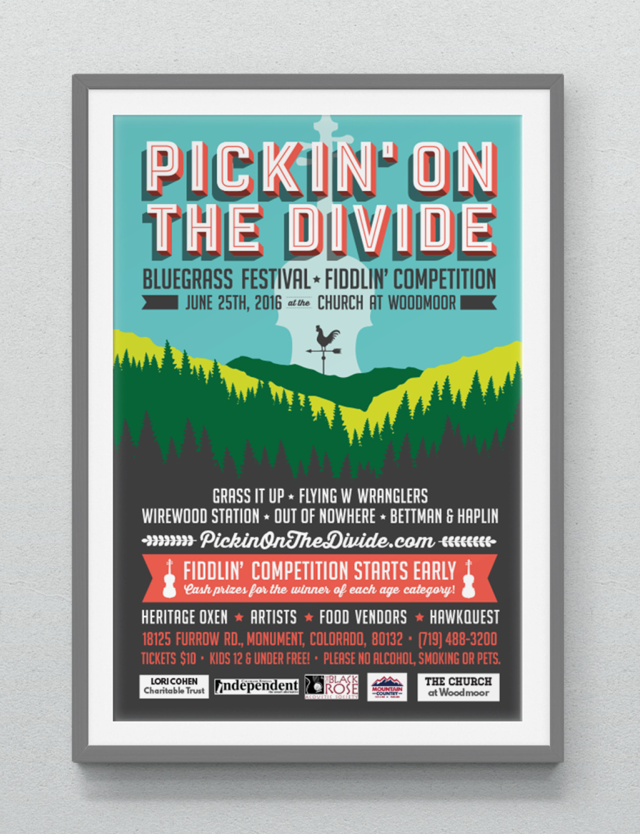 PICKIN' ON THE DIVIDE 2016